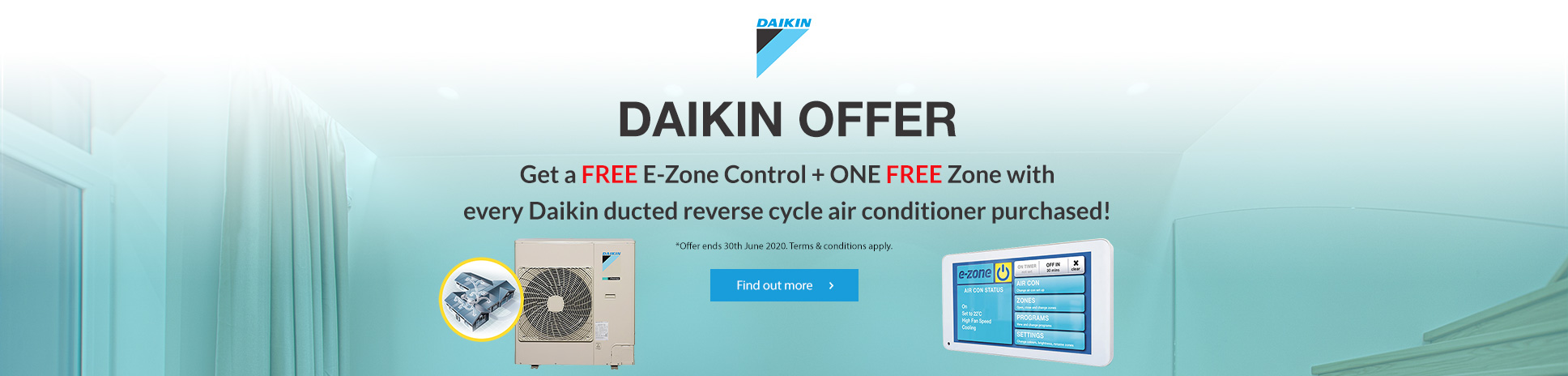 DAIKIN DUCTED REVERSE CYCLE