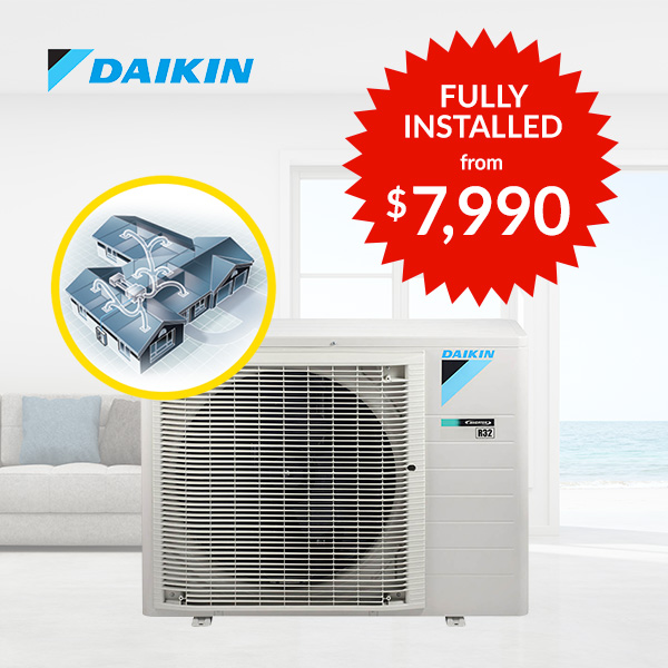 Daikin Ducted Reverse Cycle Air Conditioning