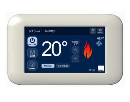 Brivis Touch Thermostat Melbourne Dale Air