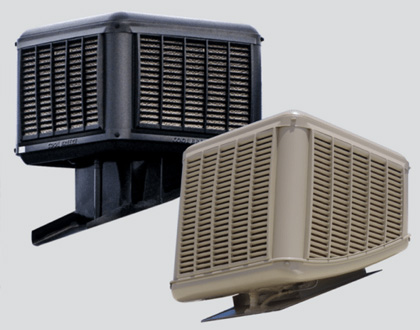 Commercial evaporative air conditioning