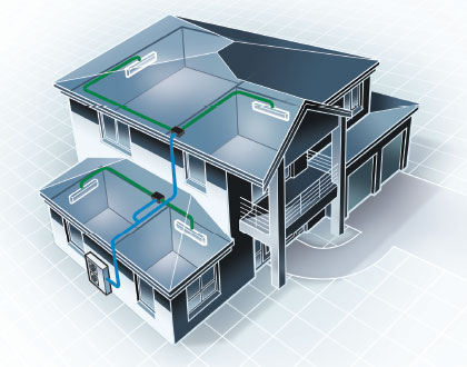 Dale Air can provide Multi-Split Systems Cooling for Homes