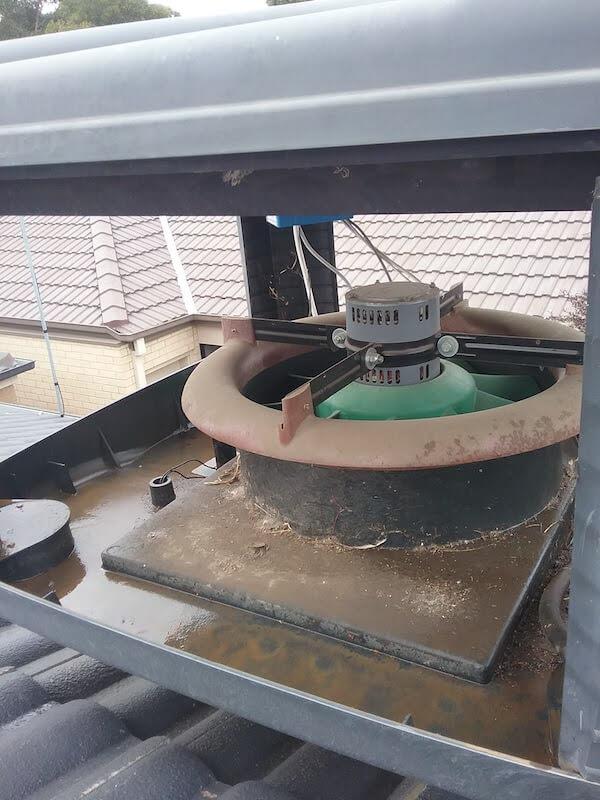 Up close look at a bonaire evap cooling service