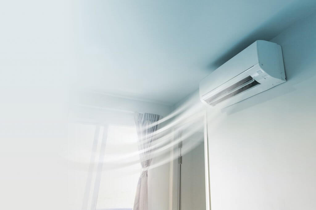 air conditioning system in home