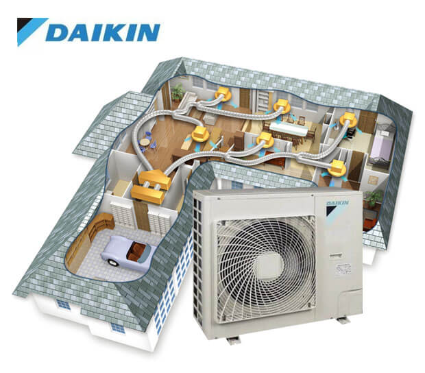 Daikin Ducted Reverse Cycle Diagram