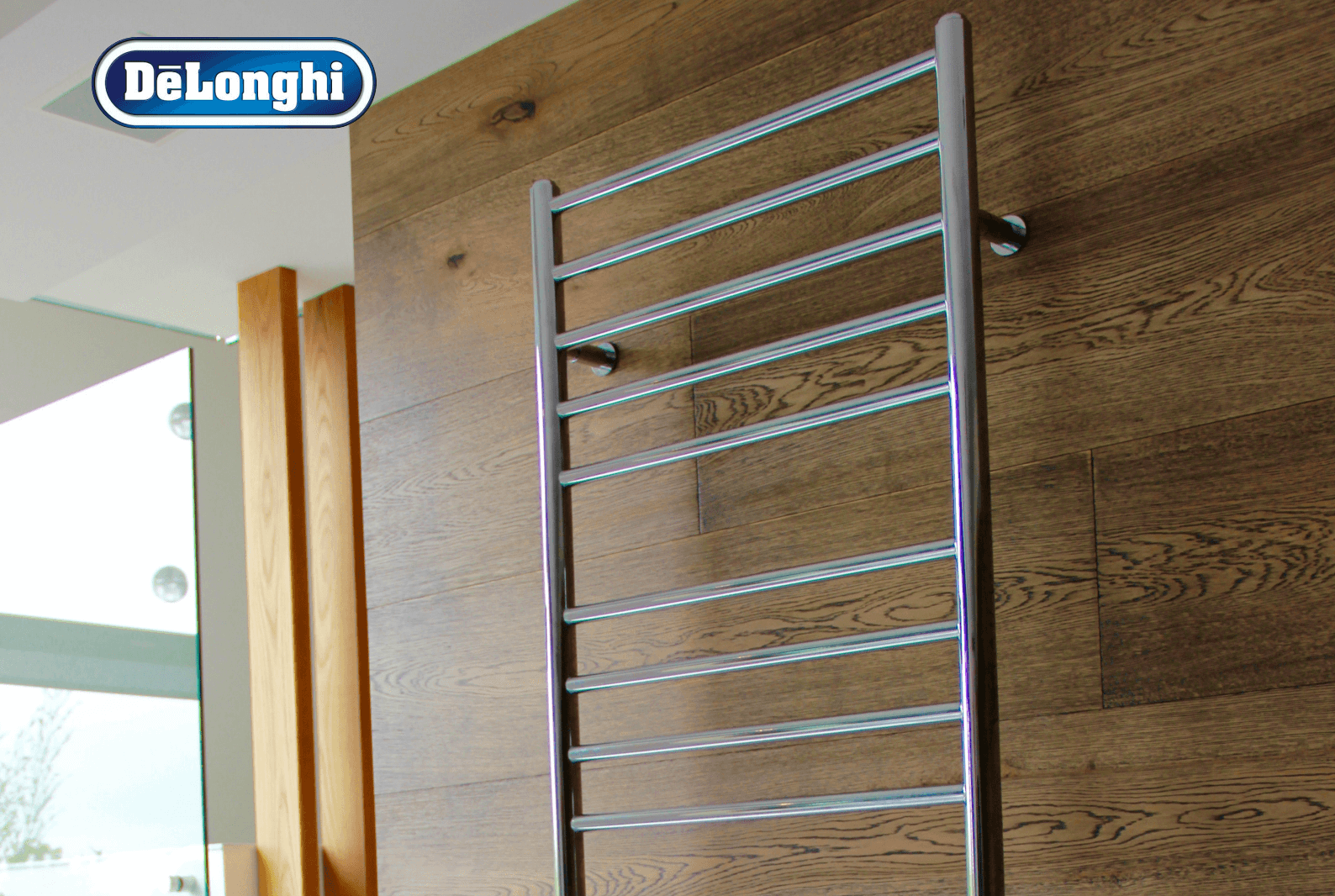 delonghi heated towel rails