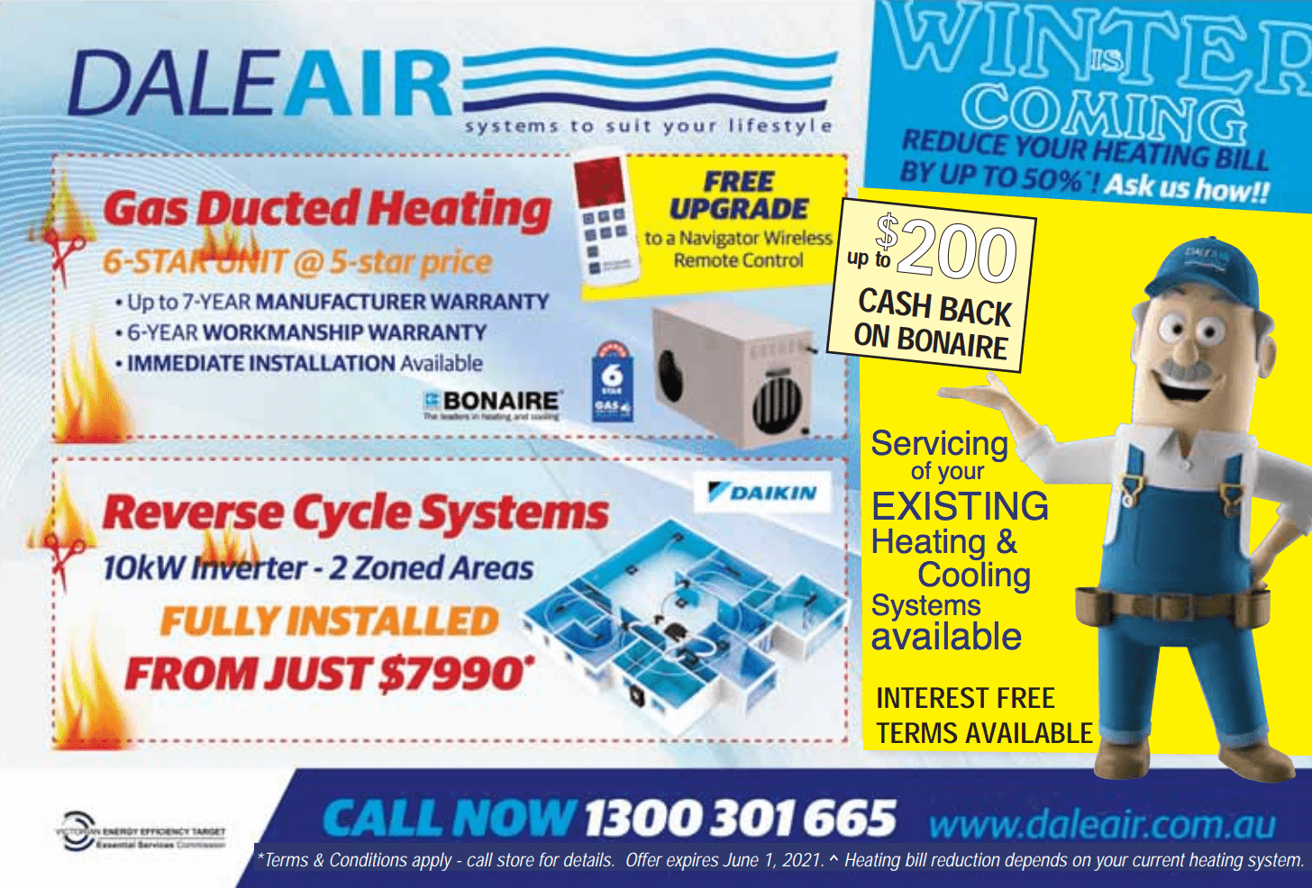 Dale Air - Winter Heating Offers