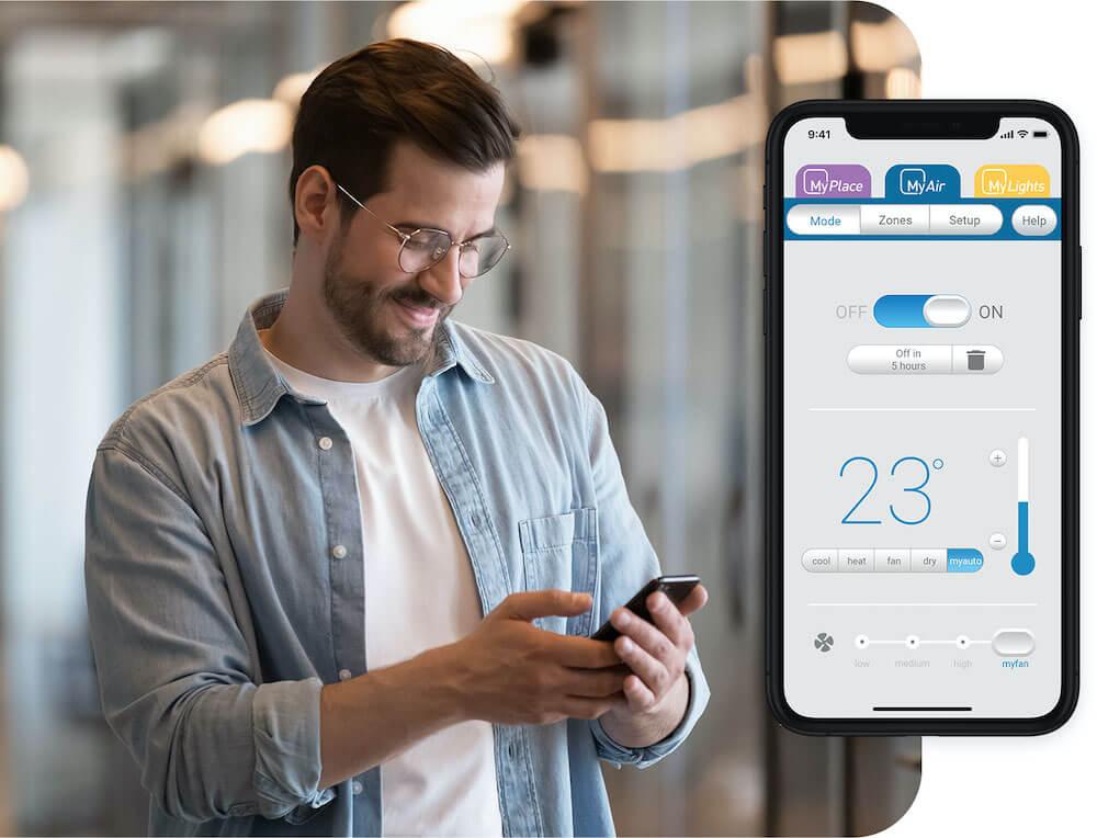 MyAir Phone Heating & Cooling App